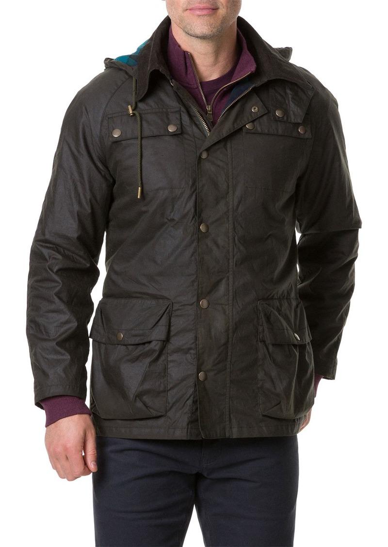 Rodd & Gunn Men's Glenorchy Waxed Field Jacket
