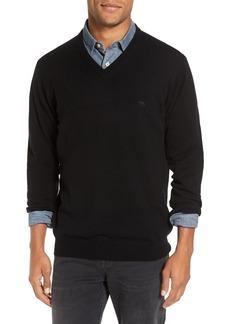 Men's Rodd & Gunn 'Inchbonnie' Wool & Cashmere V-Neck Sweater