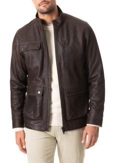 Men's Rodd & Gunn Silverdale Leather Jacket