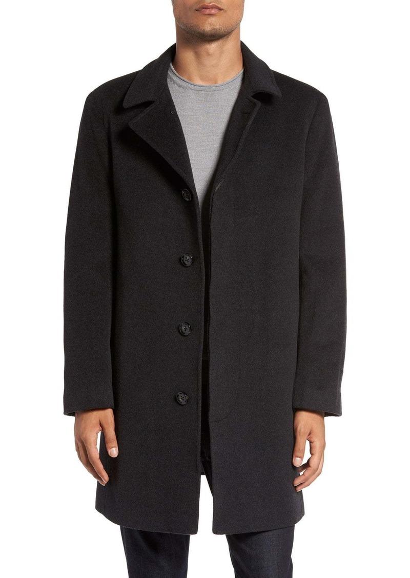 Rodd & Gunn 'Archers' Wool Blend Overcoat