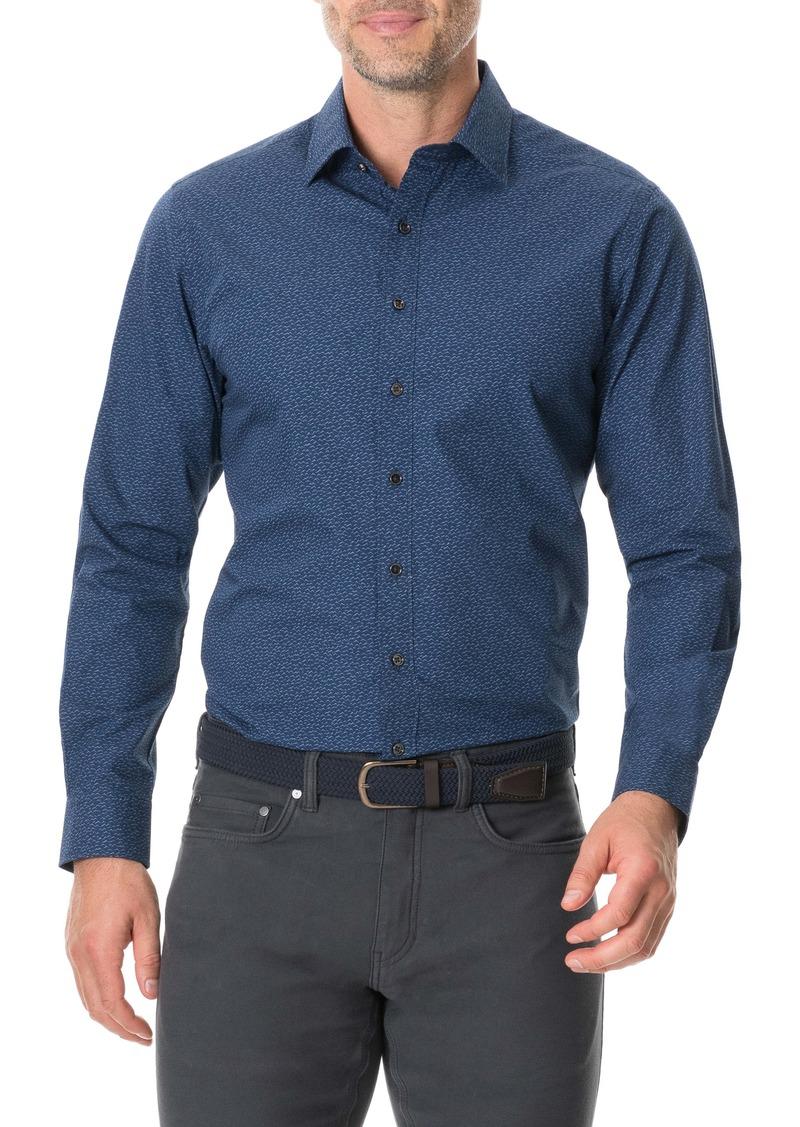 Rodd & Gunn Arkles Bay Slim Fit Button-Up Sport Shirt