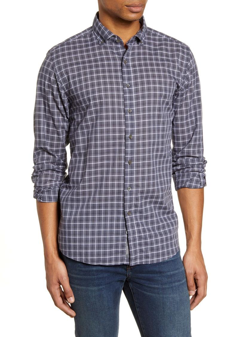Rodd & Gunn Black Gate Regular Fit Check Button-Down Shirt