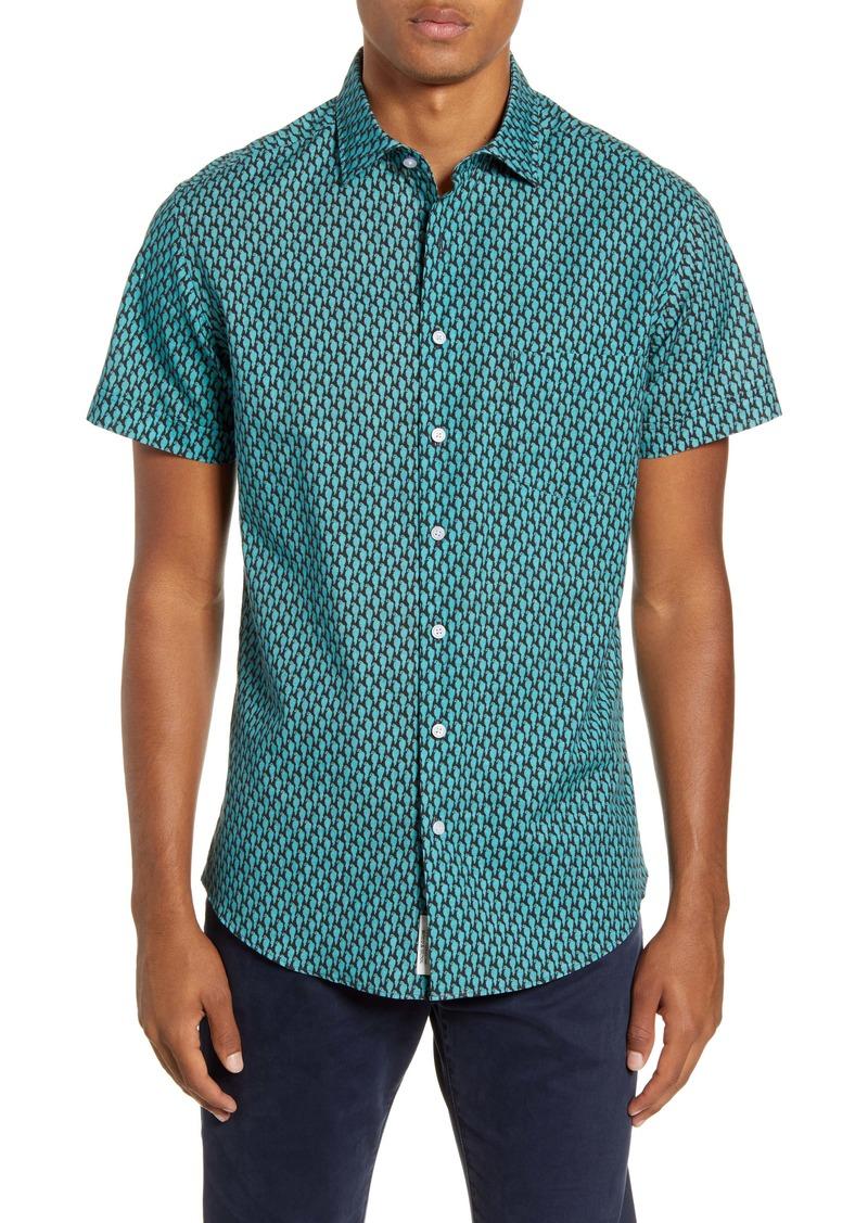 Rodd & Gunn Chester Place Regular Fit Short Sleeve Button-Up Shirt