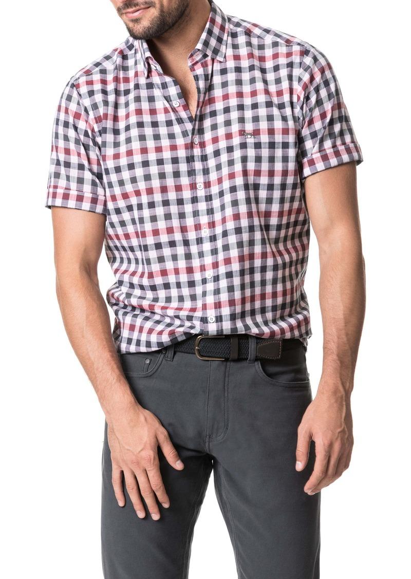 Rodd & Gunn Danbury Regular Fit Check Short Sleeve Button-Up Shirt