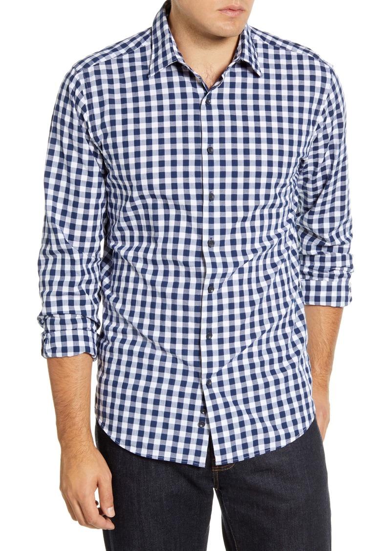 Rodd & Gunn Dixon Road Regular Fit Long Sleeve Check Button-Up Shirt