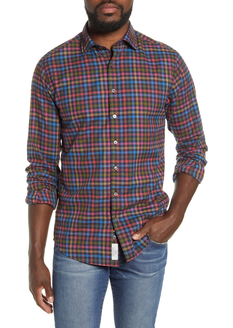 Rodd & Gunn Evansdale Plaid Button Front Shirt