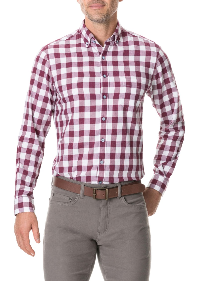 Rodd & Gunn Flints Bush Regular Fit Check Button-Up Sport Shirt