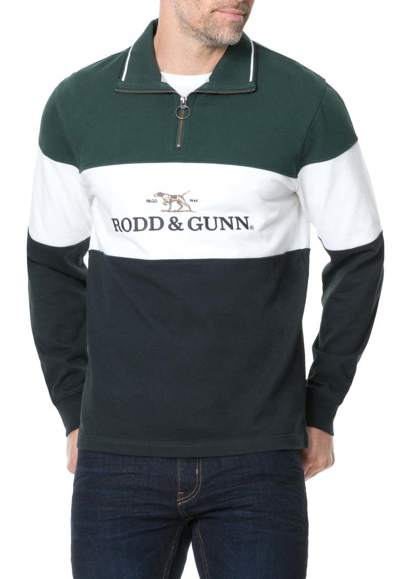 Rodd & Gunn Foresters Peak Quarter Zip Pullover