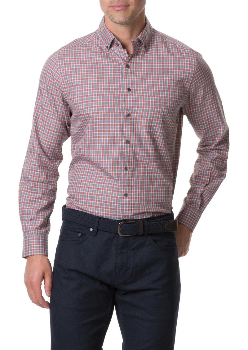 Rodd & Gunn Gammons Regular Fit Check Button-Up Shirt