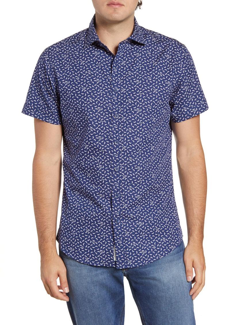Rodd & Gunn Grantlea Regular Fit Short Sleeve Button-Up Sport Shirt