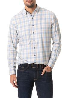 Rodd & Gunn Green Valley Sports Fit Plaid Button-Up Flannel Shirt