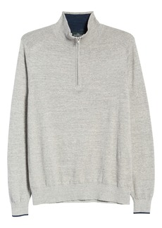 Rodd & Gunn Harley Cotton Quarter Zip Sweater