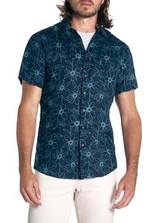 Rodd & Gunn Helensbrook Regular Fit Floral Linen Short Sleeve Button-Up Shirt