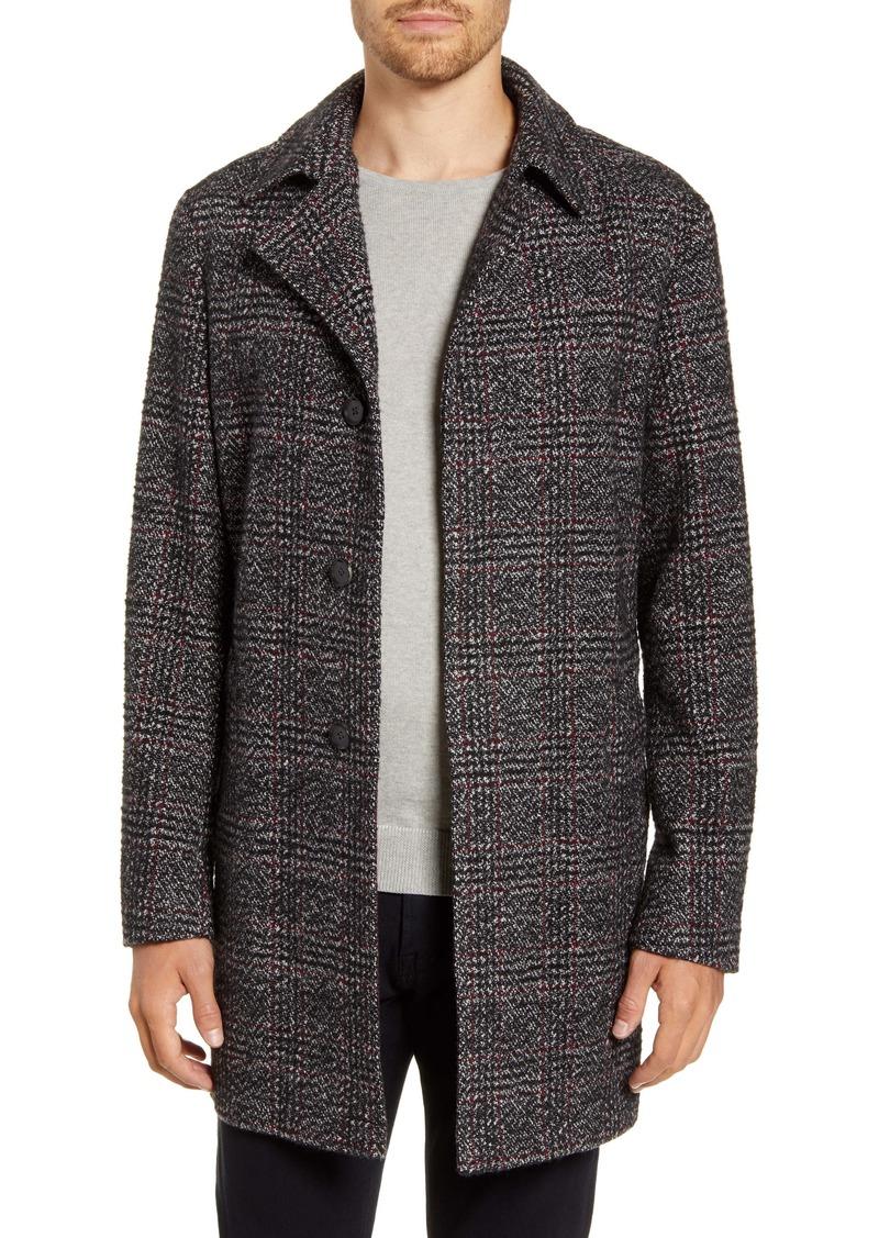 Rodd & Gunn Plaid Wool Blend Topcoat
