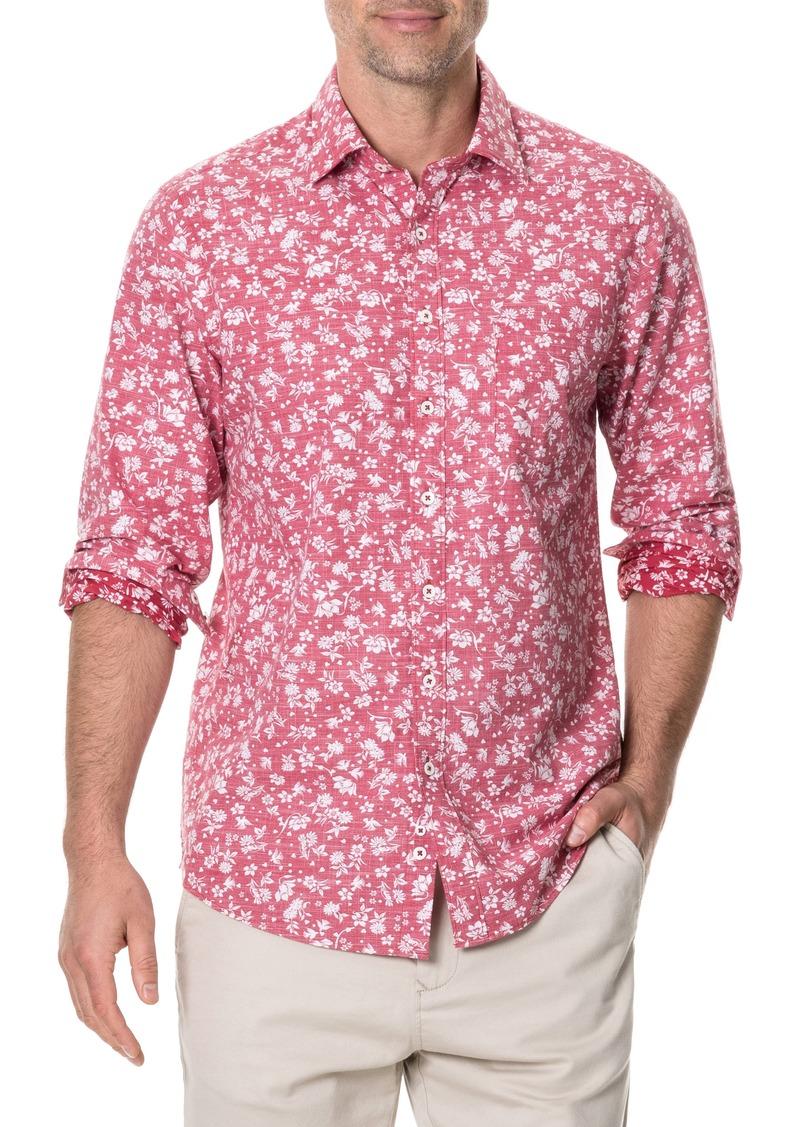 Rodd & Gunn Ramsay Regular Fit Floral Print Cotton Shirt