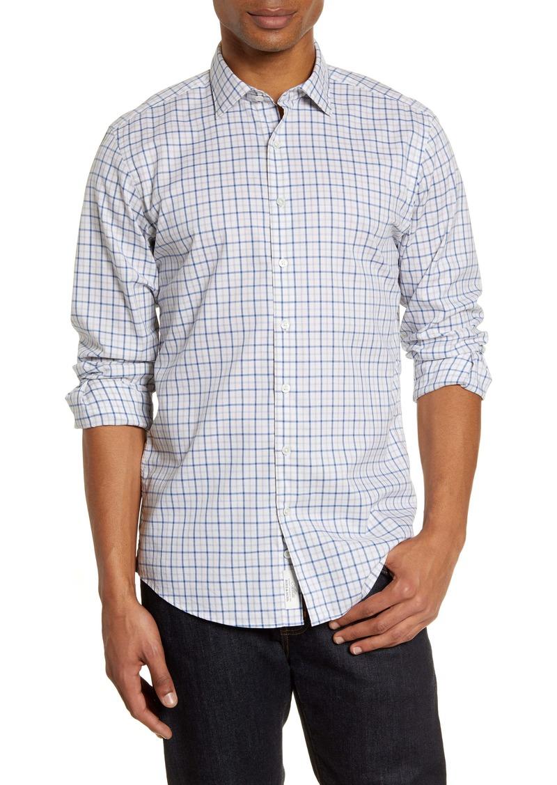 Rodd & Gunn Sports Fit Tattersall Plaid Button-Up Shirt