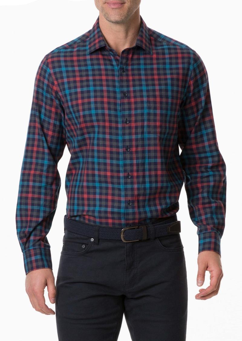 Rodd & Gunn Stanaway Regular Fit Check Button-Up Sport Shirt