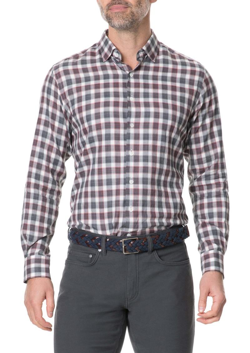 Rodd & Gunn Wickham Regular Fit Check Button-Up Sport Shirt