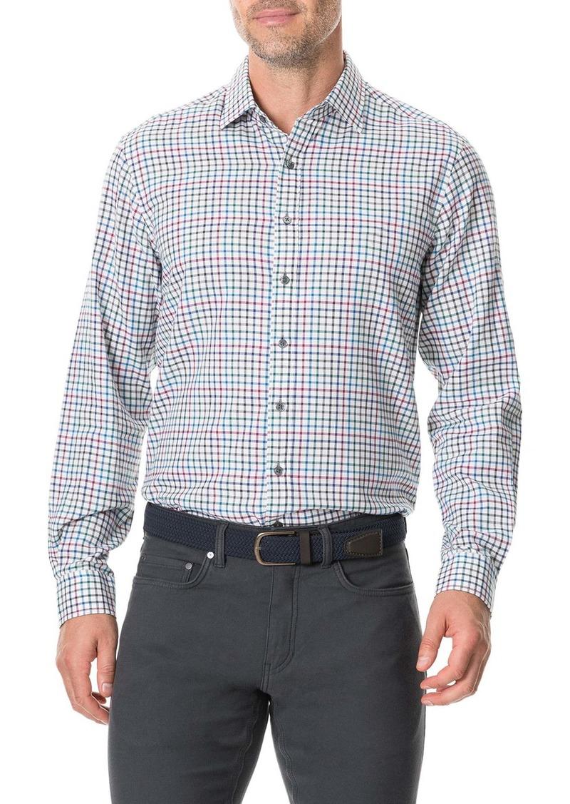 Rodd & Gunn Woodhouse Regular Fit Button-Up Flannel Shirt