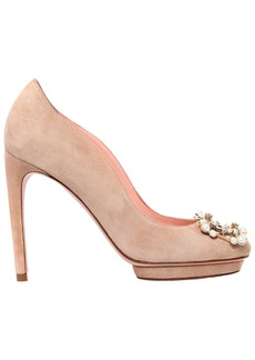 Roger Vivier 105mm Dita Suede Pumps