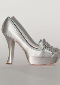Roger Vivier 120mm Lvr Exclusive Satin Pumps