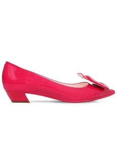 Roger Vivier 25mm Gommette Patent Leather Pumps