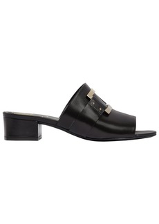 Roger Vivier 35mm Buckled Leather Slide Sandals