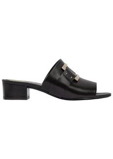 Roger Vivier 35mm Buckled Leather Slide Sandals