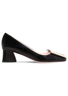 Roger Vivier 45mm Belle De Jour Patent Leather Pumps
