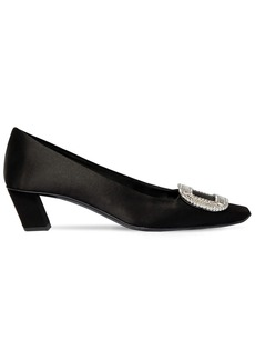Roger Vivier 45mm Belle Vivier Satin Pumps