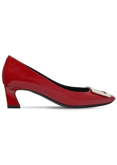 Roger Vivier 45mm Trompette Patent Leather Pumps