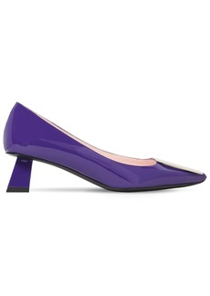Roger Vivier 45mm Trompettine Patent Leather Pumps