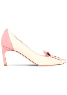 Roger Vivier 70mm Trompette Tongue Patent Pumps