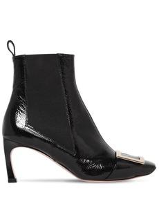 Roger Vivier 70mm Trompette Wrinkled Leather Boots