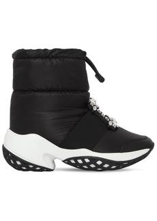 Roger Vivier 75mm Viv Run Padded Nylon Snow Boots