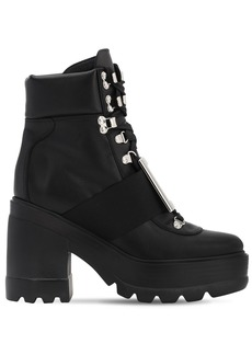 Roger Vivier 80mm Utility Leather Boots