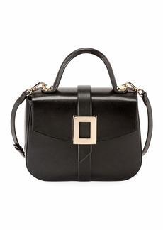 Roger Vivier Beau Vivier Smooth Calf Leather Top-Handle Shoulder Bag