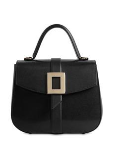 Roger Vivier Beau Vivier Leather Top Handle Bag