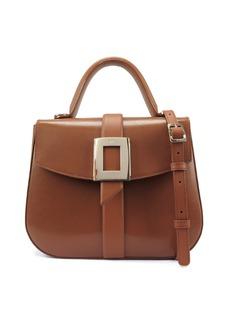 Roger Vivier Beau Vivier Smooth Goat Leather Top-Handle Shoulder Bag