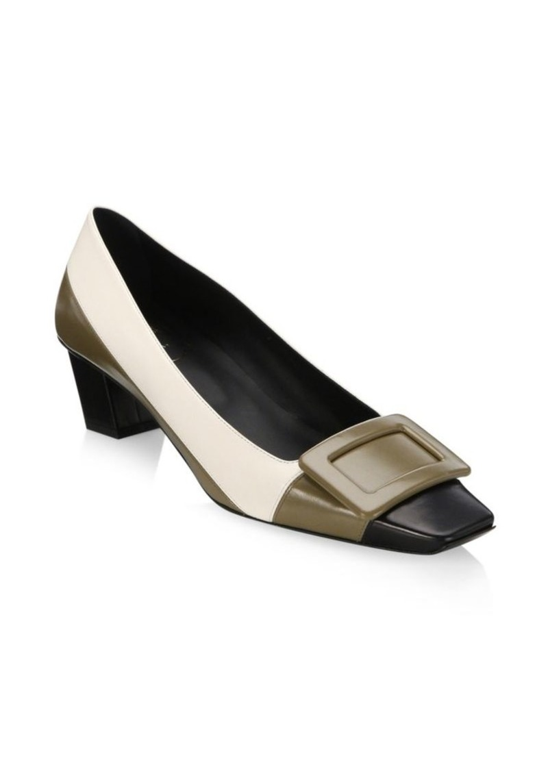 54bea8489a4 Roger Vivier Belle Colorblock Pumps
