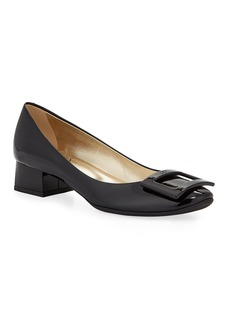Roger Vivier Belle de Nuit Rubber-Sole Pumps  Black