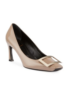 Roger Vivier Belle Patent Buckle Pumps