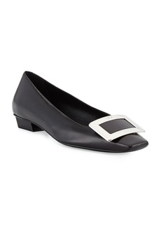 Roger Vivier Belle Vivier Leather Pumps  Black