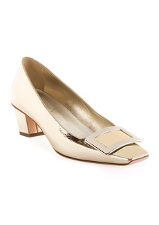 Roger Vivier Belle Vivier Metallic Pumps