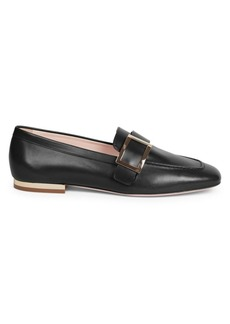Roger Vivier Buckle Leather Loafers