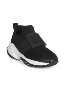Roger Vivier Buckle Running Sneakers