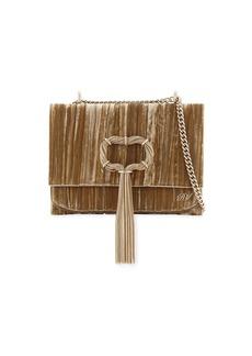 Roger Vivier Club Chain Velvet Tassel Evening Clutch Bag