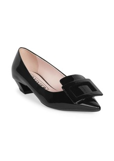 Roger Vivier Gommettine Leather Pumps