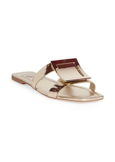 Roger Vivier Leather Buckle Sandals