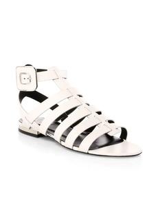 Roger Vivier Leather Gladiator Sandals